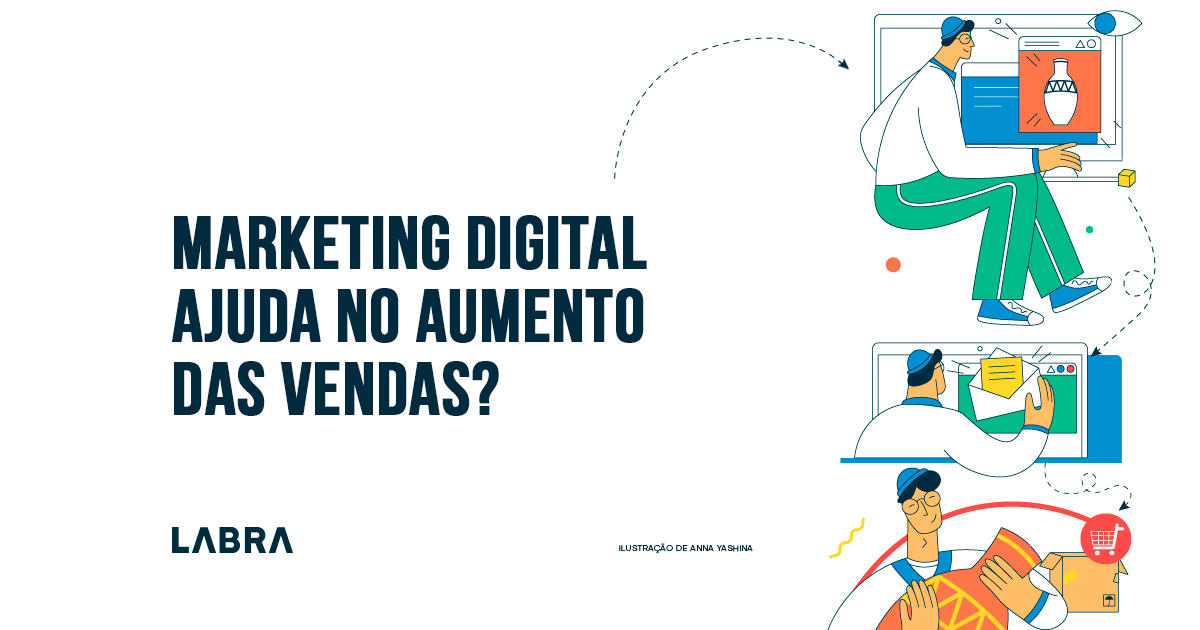 Marketing digital ajudar no aumento das vendas